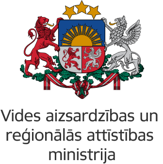 The Latvian Ministry of Environmental Protection and Regional Development logo
