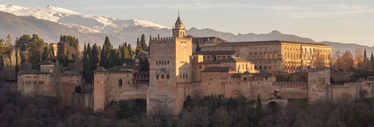 Alhambra Granada Sunset